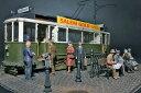 1/35 ヨーロッパ路面電車 〈路面ベース付〉(再販)[ミニアート]《発売済・在庫品》