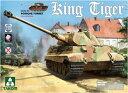 1/35 WIIドイツ軍重戦車Sd.Kfz.183 キングタイガーポルシェ砲塔 (インテリア付/ツィンメリット無) プラモデル[TAKOM]《発売済・在庫品》