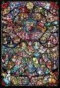 ジグソーパズル ディズニー&ディズニー/ピクサー ヒロインコレクション ステンドグラス ピュアホワイト 1000ピース[テンヨー]《取り寄せ※暫定》
