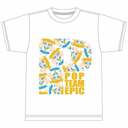 ポプテピピック コピペTシャツ ポプ子 M[エクスレア]《12月予約\u203b暫定