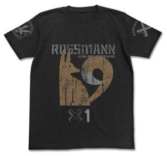 ブレイブウィッチーズ ロスマン パーソナルマークTシャツ/ブラック-S(Brave Witches - Rossmann Personal Mark T-shirt / BLACK - S(Pre-order))