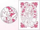 ベルサイユのばら グリーティングカード〈レーザーカットタイプ〉 D(ピンク)[POMMOP]《12月予約※暫定》