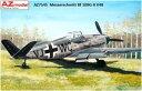 1/72 メッサーシュミットBf109G-0 V48「V字型尾翼」 プラモデル[AZ Model]《12月予約※暫定》