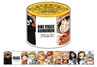ワンピース×くまモン マスキングテープ(ONE PIECE x Kumamon - Masking Tape(Pre-order))