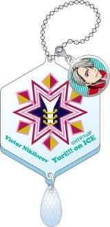 ユーリ!!! on ICE イメージアクリルキーホルダー(B)ヴィクトル(Yuri on Ice - Image Acrylic Keychain (B) Victor Nikiforov(Pre-order))