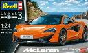 1/24 マクラーレン 570S プラモデル[ドイツレベル]《発売済・在庫品》