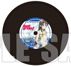 BanG Dream! レコードコースター 花園たえ[ブシロードミュージック]《発売済・在庫品》