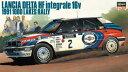 1/24 カーモデルシリーズ ランチア デルタ HF インテグラーレ 16v 1991 1000湖ラリー プラモデル[ハセガワ]《02月予約》