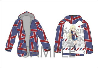 きんいろモザイク Pretty Days 長袖フルグラフィックパーカー(Kiniro Mosaic Pretty Days - Long Sleeve Full Graphic Parka(Pre-order))