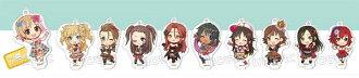 アイドルマスター シンデレラガールズ スタンド付きアクリルキーホルダーコレクション PASSION 10個入りBOX(THE IDOLM@STER Cinderella Girls - Acrylic Keychain Collection w/Stand: PASSION 10Pack BOX(Pre-order))