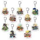 Fate/Grand Order 宝具コマンドカード トレーディングアクリルキーホルダー 10個入りBOX[ホビーストック]《03月予約》