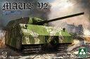 1/35 マウス V2 WWII ドイツ超重戦車 プラモデル[TAKOM]《02月仮予約》