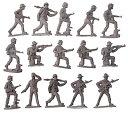 1/32 北ベトナム兵・ベトナム戦・8ポーズ15体 プラモデル[マース]《03月予約※暫定》
