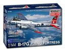 1/144 WW.II アメリカ陸軍航空軍 B-17G フライングフォートレス 第8空軍 プラモデル(再販)[ミニクラフト]《取り寄せ※暫定》