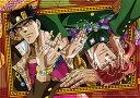 TVアニメ「ジョジョの奇妙な冒険」 B2タペストリー 承太郎&花京院[ディ・モールト ベネ]《取り寄せ※暫定》