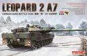 1/35 ドイツ主力戦車 レオパルト2 A7 プラモデル(再販)[MENG Model]《07月予約※暫定》