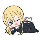 TVアニメ『王室教師ハイネ』 ごろりんラバーストラップ (5) リヒト[メディコス・エンタテインメント]《取り寄せ※暫定》