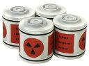 1/48 スペース1999 イーグル号 核廃棄物キャニスターセット プラモデル[AMT]《取り寄せ※暫定》の画像