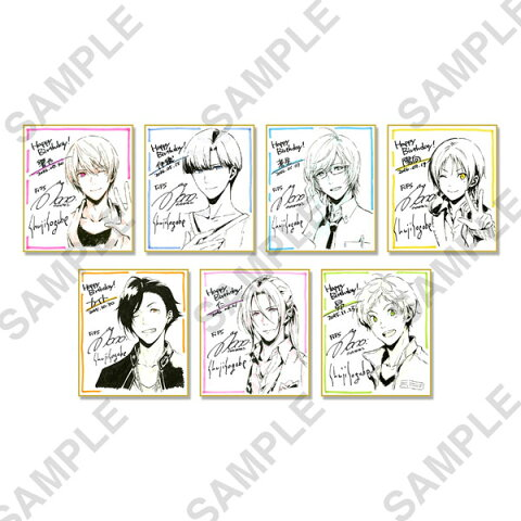 夢色キャスト バースデーミニ色紙コレクション Private ver. 7個入りBOX[KADOKAWA]《発売済・在庫品》