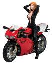 バイクガール DUCATI 996Rつき 1/12 完成品フィギュア[アイズ・プロジェクト]《発売済・在庫品》