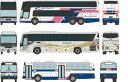 ザ・バスコレクション 西日本ジェイアールバス発足30周年記念3台セット[トミーテック]《03月予約》