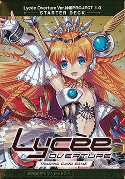 リセ オーバーチュア Ver.神姫PROJECT 1.0 スターターデッキ パック[ムービック]《発売済・在庫品》