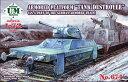 1/72 独 装甲列車 対戦車先導車T-34利用型 プラモデル ユニモデル 《12月予約※暫定》