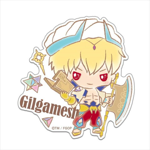 Fate/Grand Order Design produced by Sanrio ビッグダイカットステッカー キャスター/ギルガメッシュ[Gift]《取り寄せ※暫定》