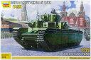 1/72 T-35 ソビエト重戦車 プラモデル ズベズダ 《12月予約》