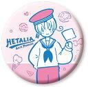 ヘタリア Axis Powers 缶バッジ 1 イタリア カナリア 《11月予約》