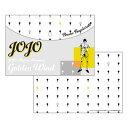 ジョジョの奇妙な冒険 黄金の風 フラットポーチ B:ブローノ・ブチャラティ[ディ・モールト ベネ]《01月予約》