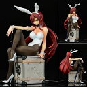 FAIRY TAIL エルザ・スカーレット Bunny girl_Style/type white 1/6 完成品フィギュア[オルカトイズ]《08月予約》