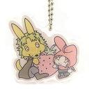 銀魂×Sanrio characters HARUSAME×MM おやすみ柄とぅるるんアクリルキーホル� ー[KThingS] 発売済・在庫品