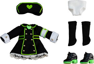 ねんどろいどどーる おようふくセット ナース服(Black)[グッドスマイルカンパニー]《10月予約》