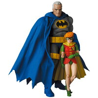 マフェックス No.139 MAFEX BATMAN BLUE Ver. & ROBIN(The Dark Knight Returns)[メディコム・トイ]《06月予約》