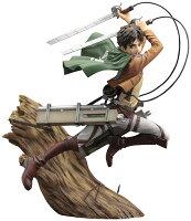 ARTFX J 進撃の巨人 エレン・イェーガー リニューアルパッケージver. 1/8 完成品フィギュア[コトブキヤ]《08月予約》