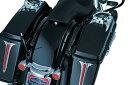 クリアキン アッパーサドルバッグフィラーパネル BK STREET GLIDE 09-13