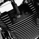 43896-99グロスブラックヘッドボルトカバーキット
