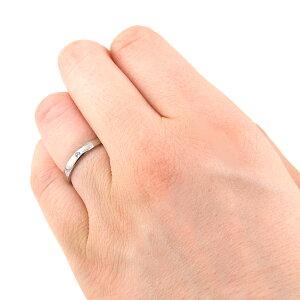 チタンマリッジリング甲丸鏡面2.5mm幅選べる誕生石[R0288-BDS-pair]