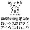 【ポイント10倍】【35分でお届け】ARマッチ体B Windows版TrueTypeフォント【C&G】【ダウンロード版】