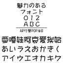 【ポイント10倍】【35分でお届け】AR竹管POP体B Windows版TrueTypeフォント【C&G】【ダウンロード版】