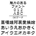 【ポイント10倍】【35分でお届け】C&Gブーケ (Windows版 TrueTypeフォントJIS2004字形対応版) 【C&G】【ダウンロード版】