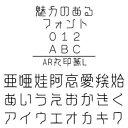 【ポイント10倍】【35分でお届け】AR丸印篆L Windows版TrueTypeフォント【C&G】【ダウンロード版】
