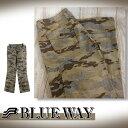【新品】【BLUE WAY】【日本製】ブルーウェイ カーゴパンツ ミリタリー ユニセックス