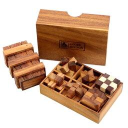 輸入元【ロックスモーション・ウッドパズル プラスワン】 木製のパズルで頭脳勝負に挑戦! 右脳の訓練! プレゼントに最適 組み立て方の動画あり 敬老の日のギフトとして!名入れできます