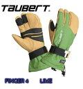 【TAUBERT】トーバート 人気の4本指グローブ FINGER 4 フィンガー4 LIME