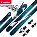 スキー板【ATOMIC】アトミック 2016/2017 VANTAGE 90 CTI +Z10 ロッカー スキービンディングセット 送料無料