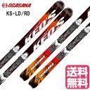 エントリーでP10倍2017/2018 OGASAKA KS-LD/RD オガサカスキーKeo'sケオッズ チロリアPRD11 ビンディング付 スキー板/送料無料