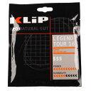 クリップ(KLIP) レジェンド ツアー (17/1.25mm・16/1.30mm) 硬式テニス ナチュラルガット カラー:ブラック