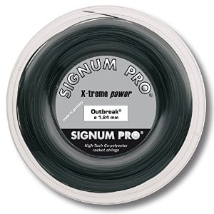 シグナムプロ アウトブレイク(118/124/130)200Mロール 硬式テニス ポリエステル ガット(Signum Pro Outbreak 200m roll strings)